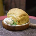 Pão semi-integral de alho